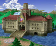 Castillo de Peach (1) SSBM