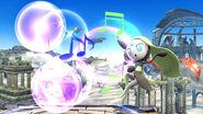 Meloetta atacando SSB4 (Wii U)