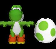 Pose T Yoshi SSB4 (Wii U)