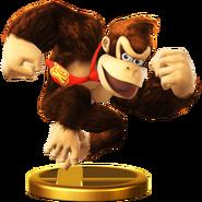 Trofeo de Donkey Kong SSB4 (Wii U)