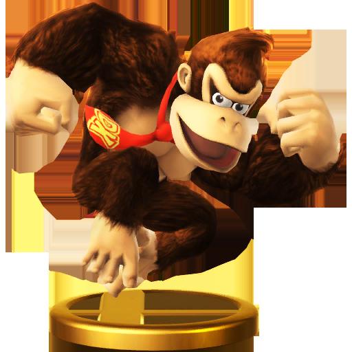 Lista de trofeos de SSB4 Wii U (Donkey Kong)