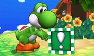 Bloque Verde en SSB4 (3DS)