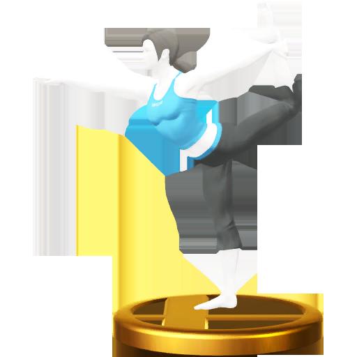 Lista de trofeos de SSB4 Wii U (Wii Fit)