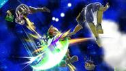 Daraen, Fox y C. Falcon SSB4 (Wii U)