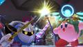 Meta Knight junto a Kirby con el poder de Palutena SSB4 (Wii U)