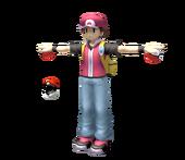 Pose T Entrenador Pokémon SSBB