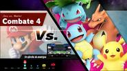 Combate 4 (Smash Arcade) Mario