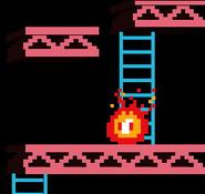 Un Fuego en el escenario 75 m SSB4 (Wii U)