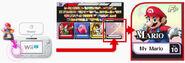 Pantalla de selección de personajes y amiibo SSB4 (Wii U)