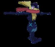 Pose T Greninja SSB4 (Wii U)