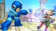 Movimiento de Mega Man (3) SSB4 (Wii U)