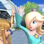 Estela y Zelda en la Torre Prisma SSBU.jpg