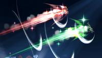 Link y Samus al ser golpeados SSB4 (Wii U)
