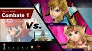 Combate 1 (Smash Arcade) Mario