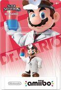 Embalaje del amiibo de Dr. Mario (América)