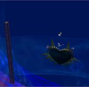 Escenario de evento de la Máscara de Majora - Curiosidad 2 SSBM
