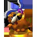 Lista de trofeos de SSB4 3DS (Duck Hunt)