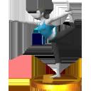 Lista de trofeos de SSB4 3DS (Wii Fit)
