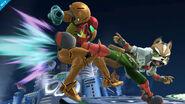 Ataque normal adicional de Fox SSB4 (Wii U)