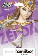 Embalaje del amiibo de Zelda (Japón)