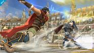 Ike vs Lucina SSB4 (Wii U)