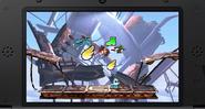 Link atacando a dos KiHunters en el Smashventura