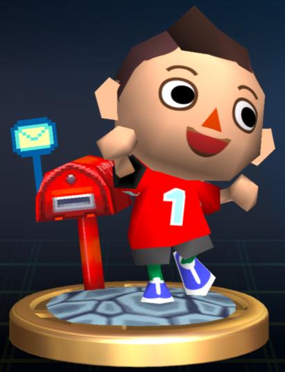 Lista de trofeos de SSBB (Animal Crossing)