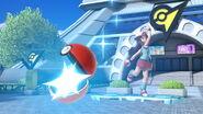 Entrenadora Pokémon en la Torre Prisma SSBU