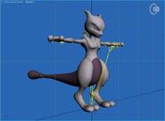 Pose T Mewtwo SSB4 (Wii U)