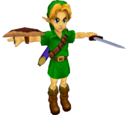 Pose T Young Link (SSBM)