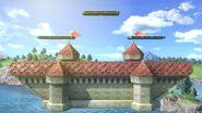 Castillo de Peach (Melee) (Versión Campo de batalla) SSBU
