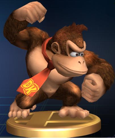 Lista de trofeos de SSBB (Donkey Kong)