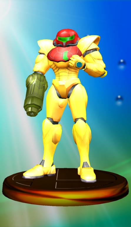 Lista de trofeos de SSBM (Metroid)