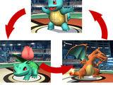 Cambio de Pokémon
