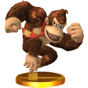 Lista de trofeos de SSB4 3DS (Donkey Kong)