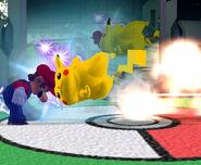 Cabezazo de Pikachu SSBM