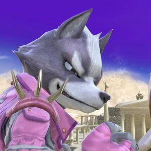Wolf y Fox en Templo de Palutena SSBU.jpg