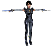 Pose T Bayonetta SSB4 (3DS)
