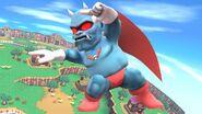 Demonio en Sobrevolando el pueblo SSB4 (Wii U)