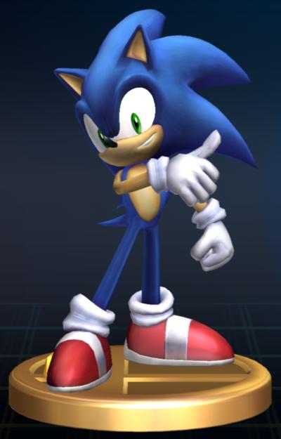 Lista de trofeos de SSBB (Sonic the Hedgehog)