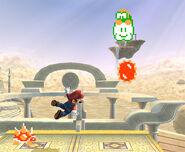 Lakitu y Mario en SSBB