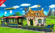 Mega Man y Fox en el Tren de los Dioses - (SSB. for 3DS)