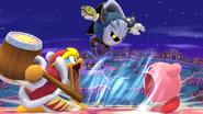 Kirby, Meta Knight y Rey Dedede SSB4 (Wii U)