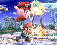 KirbyMario y Mario SSBB