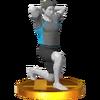 Trofeo de Entrenador de Wii Fit SSB4 (3DS).png