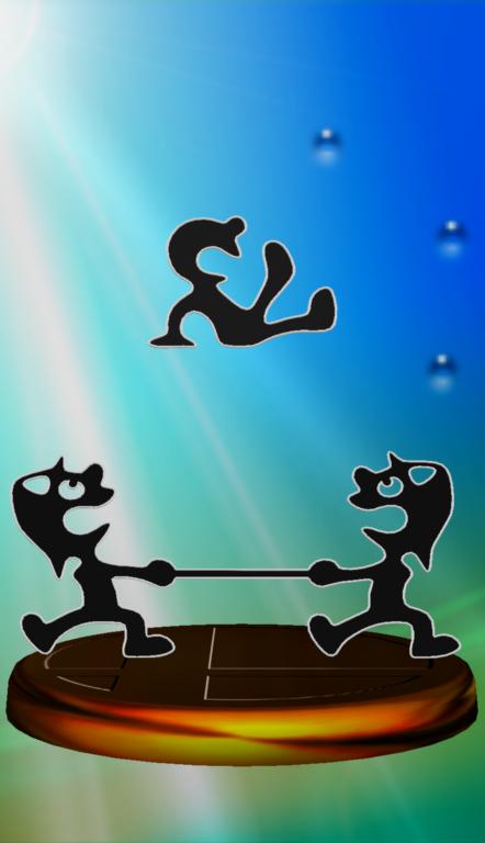 Lista de trofeos de SSBM (Game & Watch)