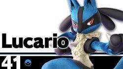 41 Lucario – Super Smash Bros