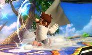 Dr. Mario usando Super Sábana en SSB4 (3DS)