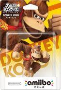 Embalaje del amiibo de Donkey Kong (Japón)