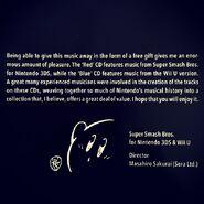 Mensaje de Masahiro Sakurai en el Premium Sound Selection